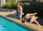 Kids and a Pool.... by smfoley