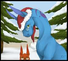 Merry Christmass by MoodyFirefly
