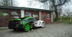 Nissan GTR - Ken Block Paint Job by G-Avramov