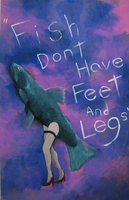 Fish dont have feet and legs by Eddie-Ka