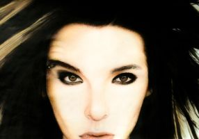 Bill kaulitz drawing full and finished by evelynsixx