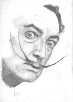 Salvadore Dali by andyfactor