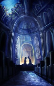 I'm in your church at night by girlUnknown