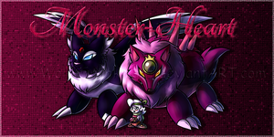 .:Monster-Heart:. by Wolfwrathknight