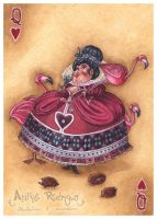 Her Majesty: Queen of Hearts by maina