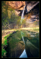 Lower Calf Creek Falls by narmansk8