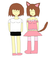 Me And Catgirl by LadyCatgirl