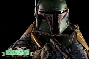 Boba Fett - Taking Aim by LuckyMintPhoto