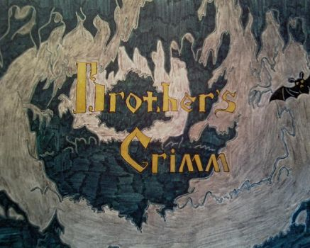 Fairy tales of Brothers Grimm-cover book- by DEMENTOR66