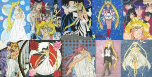 My Artistic Journey with Sailor Moon: Extended by Yamigirl21