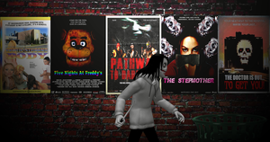 Jeff The Killer Goes To The Movies by MrAngryDog