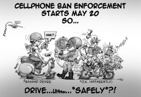 Driver Safety: Cellphone Ban by sethness