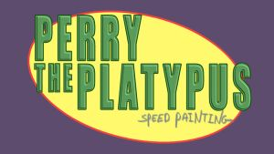 PERRY THE PLATYPUS  THUMBNAIL/TITLE CARD by IDROIDMONKEY
