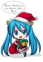 Vocaloid - Merry Christmas by Bayou-Kun