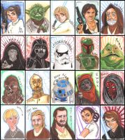 Star Wars Charity Sketch Cards by Anamated