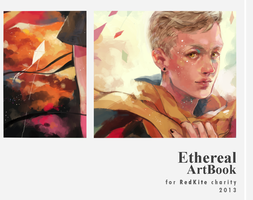 Ethereal Charity ArtBook preview by Arrrkal