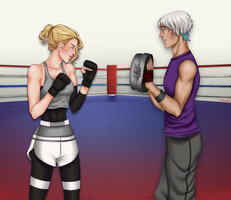 Gym Buddies by Clavelle