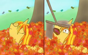 ATG4D5 - Autumn is Over Now by HatEnsemble