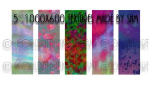 Large Psychedelic Textures by ICouldntThinkOfAName