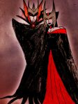 BW OC: Vampire King and Queen by Starshad0wz