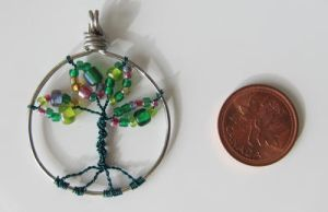 Mini Tree of Life Pendant by madewithloveL