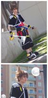 Sora Cosplay by faore