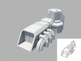 RTS Building - 3D Model by mhofever