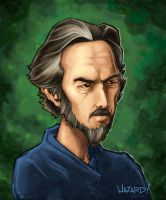 Alan Watts Painting by MRHaZaRD