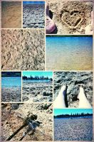 Beach Collage by LadyAriessTemptra