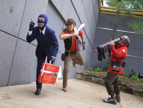 RED Soldier cosplay Team Fortress 2! by Swoz
