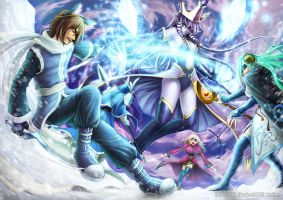 ProjectONE : Ice Queen Battle by rusharil