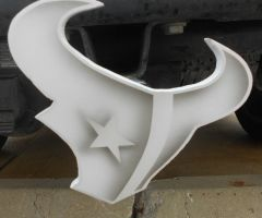 Texans logo white 2 by task002