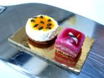 Deluxe passion fruit and raspberry dessert by WithaTouchofFantasy