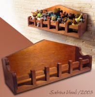 Shelf for toys by EliN-lianoR