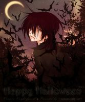 Vampiric Halloween by Sagakure