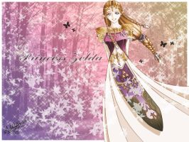 Princess Zelda Wallpaper by UNIesque