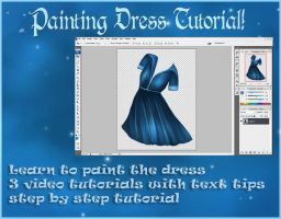 Painted Dress Tutorial by moonchild-ljilja