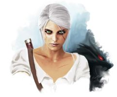 So Ciri-ous:  The Lion Cub of Cintra (Witcher 3) by Shinobi2u