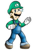 brawl collab: luigi by Nintendrawer