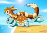 Squirtle ride by MoonRayCZ