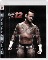 WWE 12 Custom Cover - CM Punk by thegame95