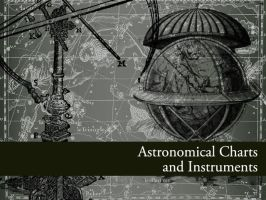 Astronomy Charts + Instruments by remittancegirl