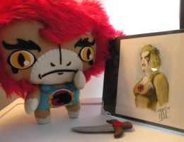 Liono loves Cheetara by loveandasandwich