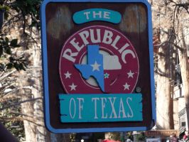 The Republic of Texas Cafe by Azailiathefox