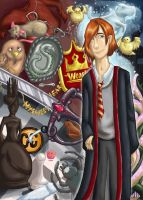 Ron Bookmark by ctrl-fish