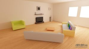 Simple Living Space by saifulkader
