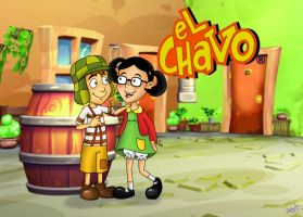 El Chavo y la Chilindrina by re-ed
