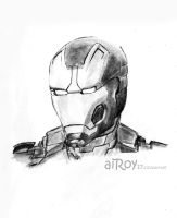 Iron Man by aiRoy17