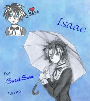 Isaac by lady-largo