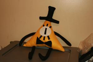 Bill Cipher Plushie by Shauna-O-Connor